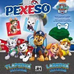 Pexeso v sešitu Paw Patrol / Tlapková patrola