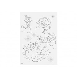 Omalovánkové listy Frozen / Ledové Království / A4