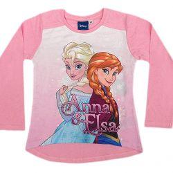 Dívčí Tričko Frozen S Dlouhým Rukávem