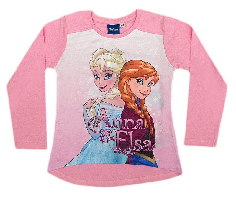 Dívčí tričko Frozen s dlouhým rukávem / vecizfilmu