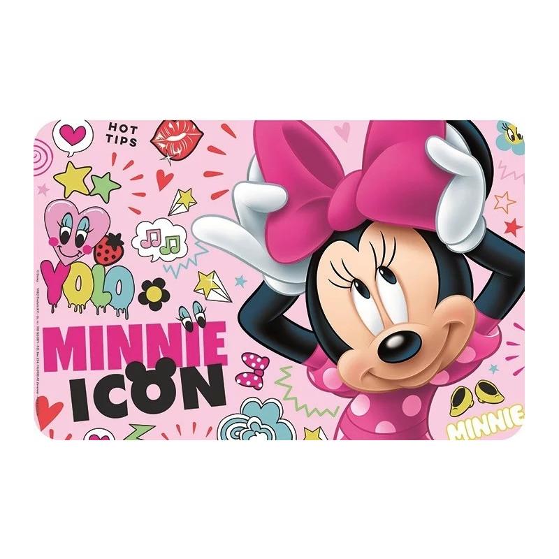 Dívčí jídelní podložka Minnie Mouse / Icon / Věcizfimů
