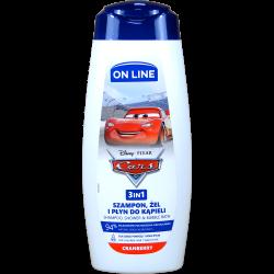 Šampon / pěna / sprchový gel Auta / Cars