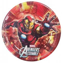 Párty talířky Avengers / 8 kusů