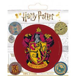 Samolepky Harry Potter / Sada 5 kusů