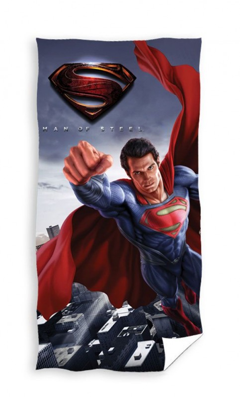 Osuška Superman Man Of Steel 70 x 140 cm