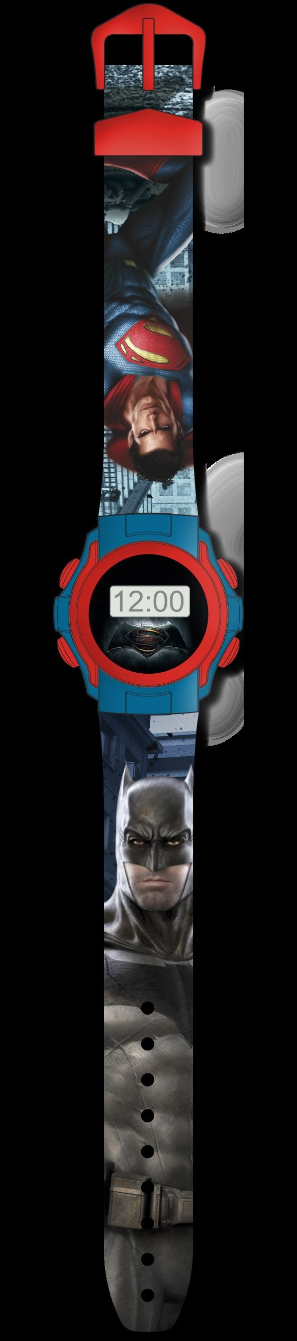 Dětské digitální hodinky Batman vs. Superman