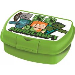 Krabička na svačinu Minecraft / Green