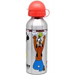 Alu Láhev Mickey Mouse s víčkem / 520 ml