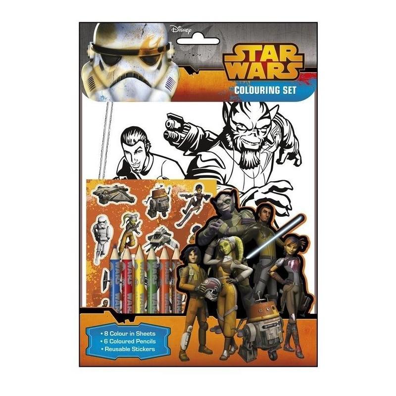 Sada omalovánky Star Wars