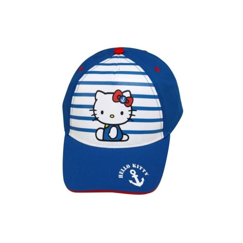 Dívčí kšiltovka Hello Kitty Modrá
