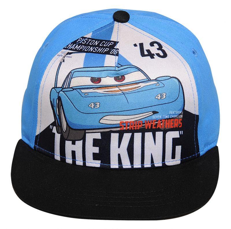 36bc5445e28 Chlapecká kšiltovka modrá Cars   Auta The King   vecizfilmu