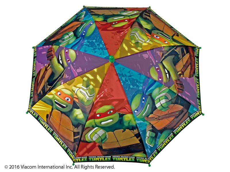 Dětský Deštník S Motivem Želvy Ninja