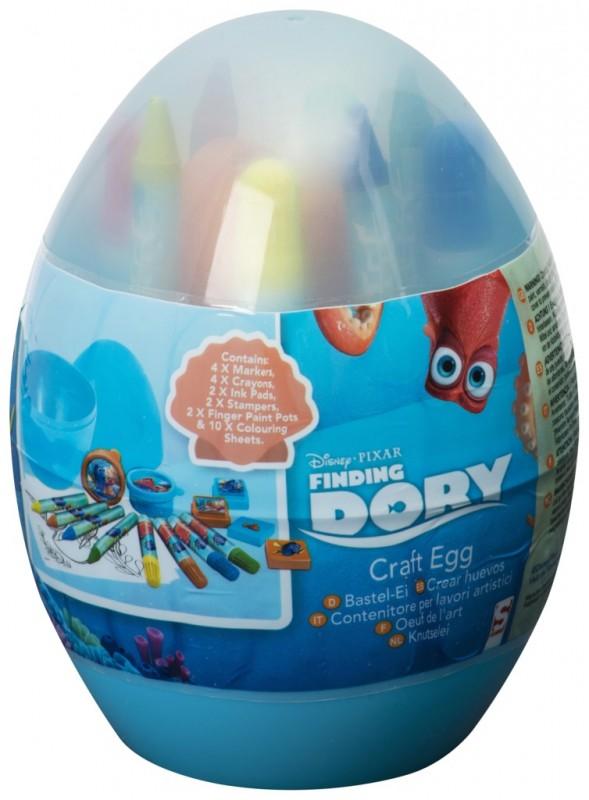 Vajíčko S Výtvarnými Potřebami Hledá Se Dory