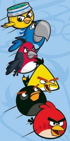 Osuška Angry Birds Rio Modrá / vecizfilmu