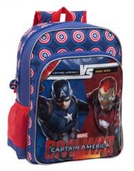 Dětský Batoh S Motivem Kapitán Amerika