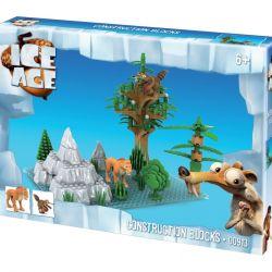 Stavebnice Doba ledová / Ice Age - Diego a Scrat