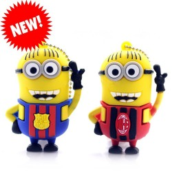 USB Flash Mimoň Barcelona/AC Milan