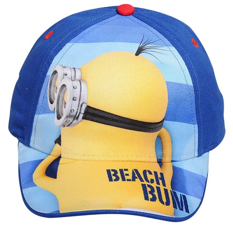 Letní kšiltovka Mimoň na pláži