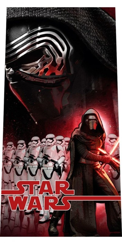 Osuška Star Wars Kylo Ren / Stormtroopers / vecizfilmu