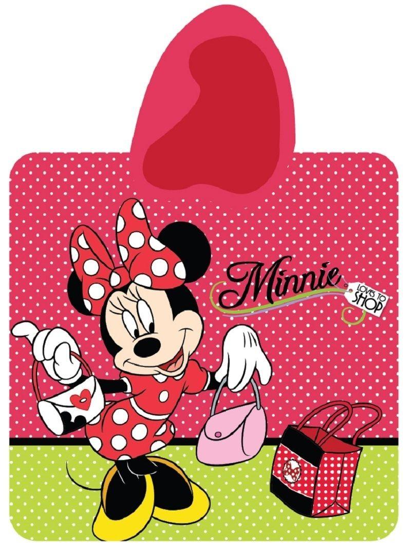 Dívčí pončo Minnie Mouse