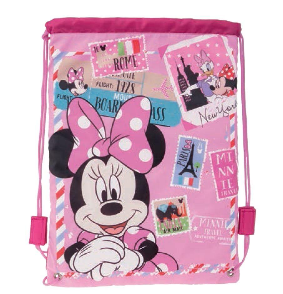 Dívčí taška / batoh na přezůvky Minnie Mouse