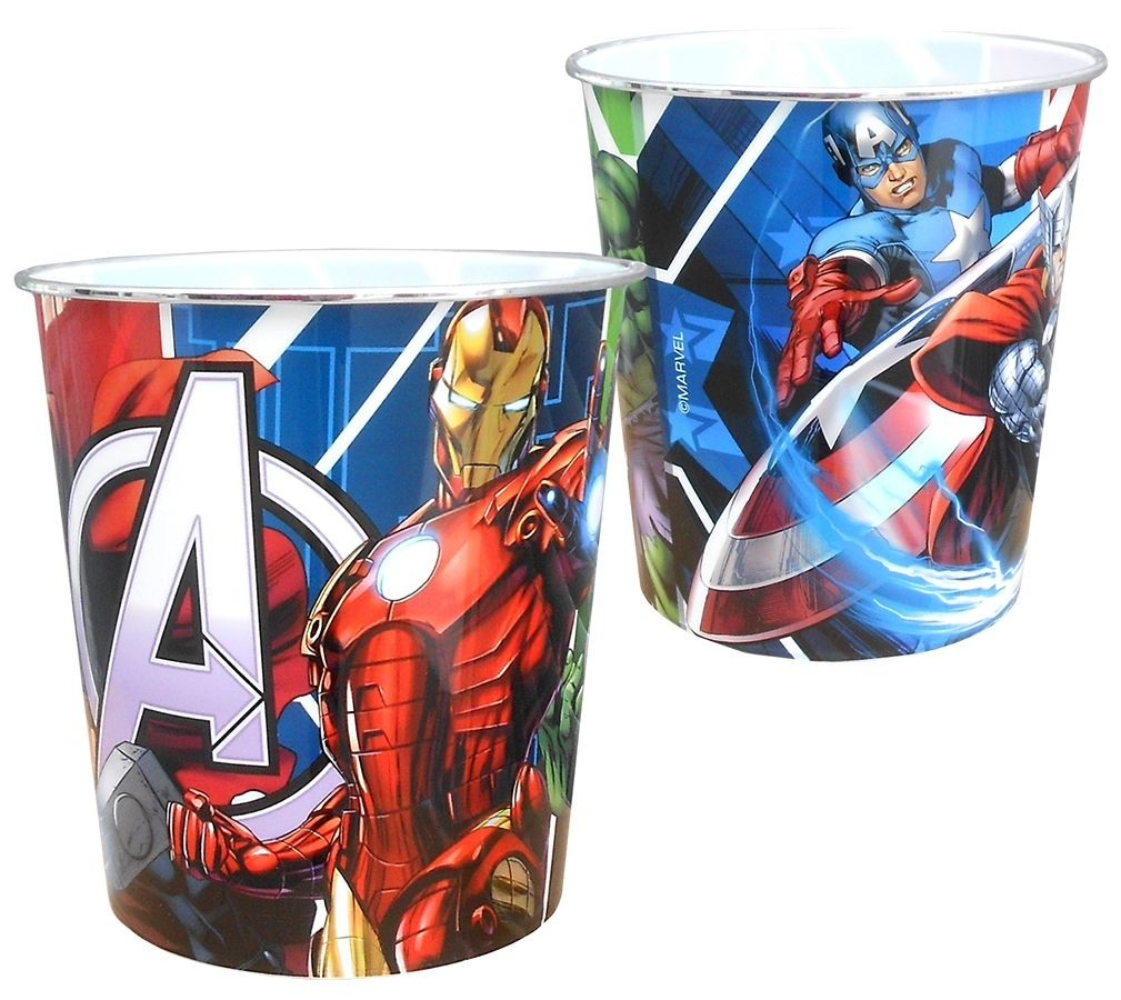 Dětský odpadkový koš Avengers