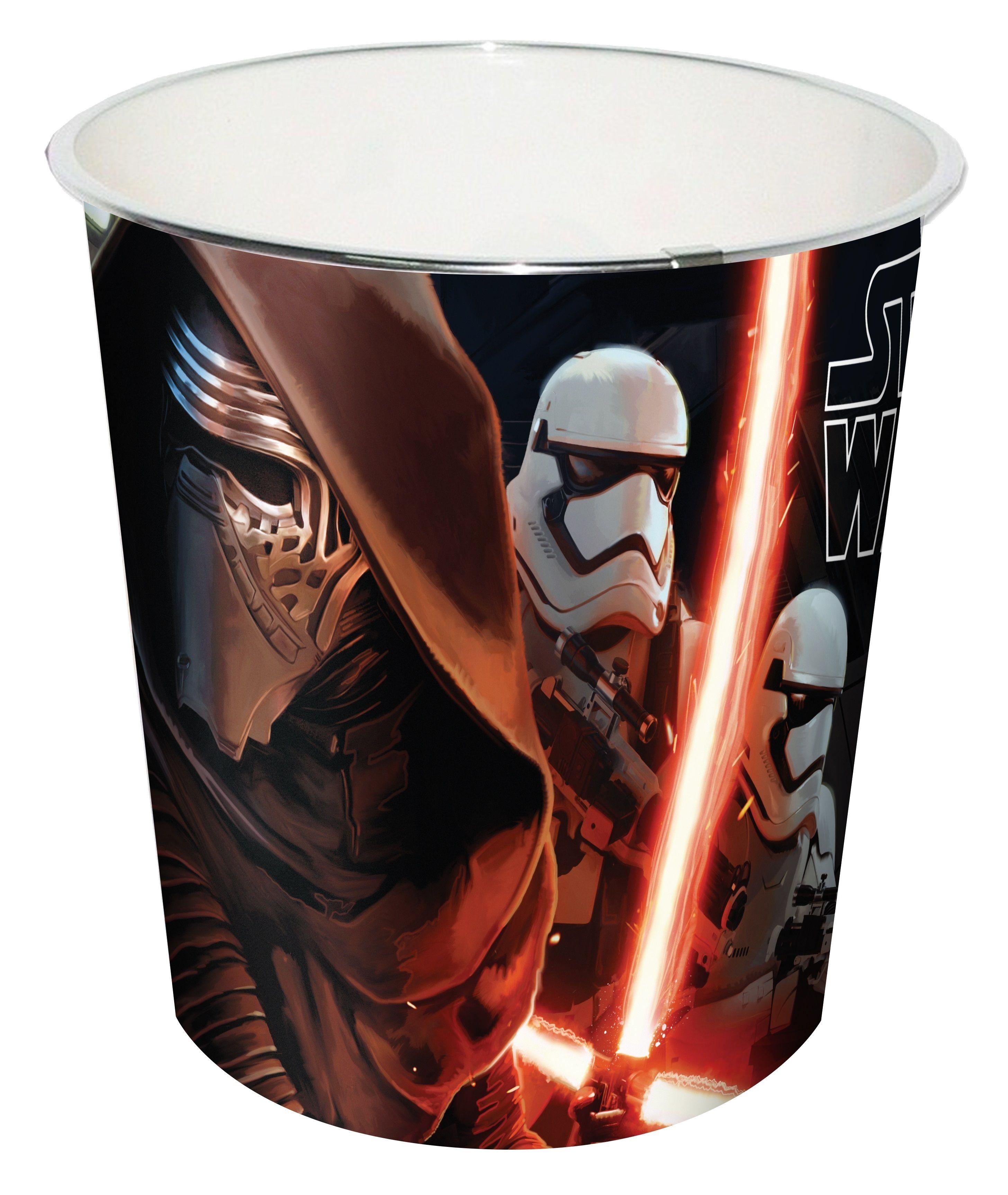 Dětský odpadkový koš šedý - Star Wars