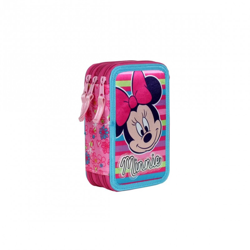 3d565c2ef7d Krásné dívčí pouzdro s vybavením Minnie Mouse
