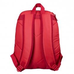 Super chlapecký batoh Avengers s kapucí - červený