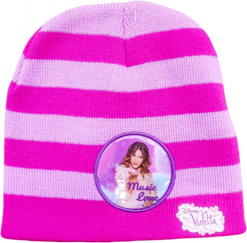 Podzimní čepice pro dívky Violetta