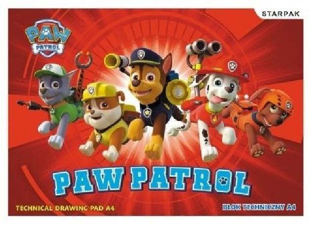 Dětský blok Paw Patrol