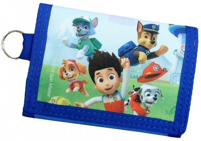 Barevná dětská peněženka Paw Patrol
