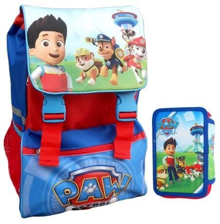 Chlapecký školní batoh s pouzdrem Paw Patrol
