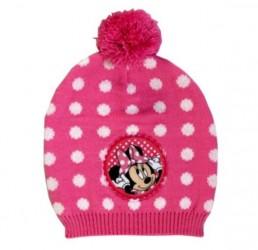 Podzimní / zimní čepice s bambulkou Minnie Mouse / vecizfilmu
