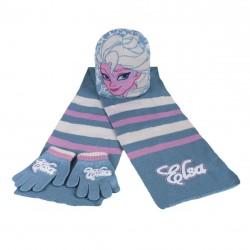 Hřejivá Sada Ledové Království / Frozen čepice / rukavice / šála