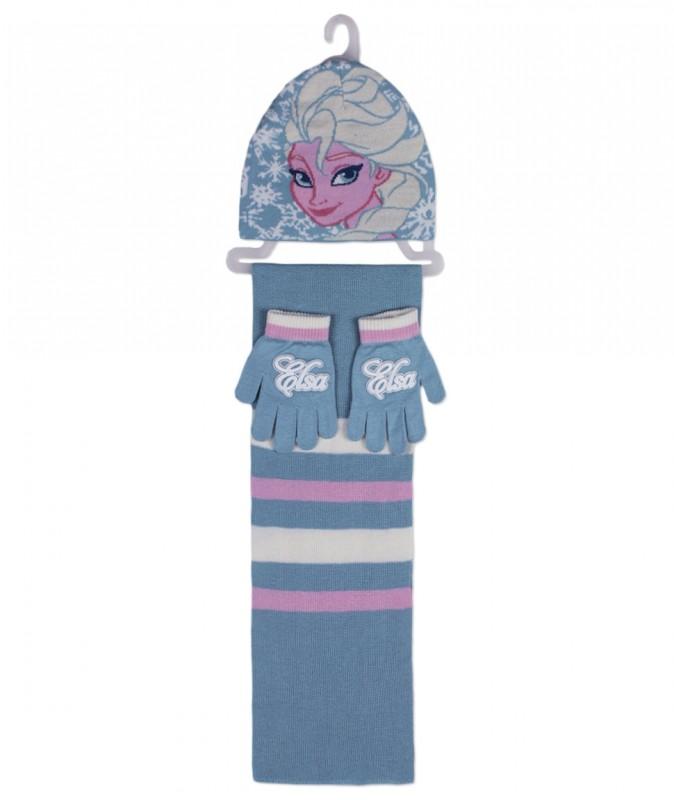 4a8012e4ebc ... Hřejivá Sada Oblečení Ledové Království   Frozen čepice   rukavice    šála   vecizfilmu