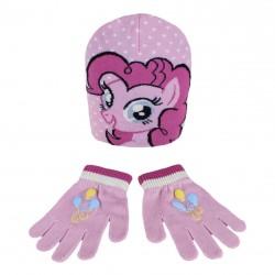 Dívčí Hřejivá Sada Oblečení My Little Pony čepice a rukavice