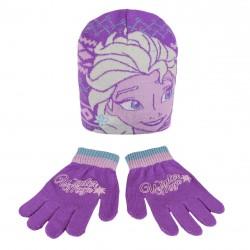 Hřejivá Sada Oblečení Frozen / Ledové Království čepice a rukavice