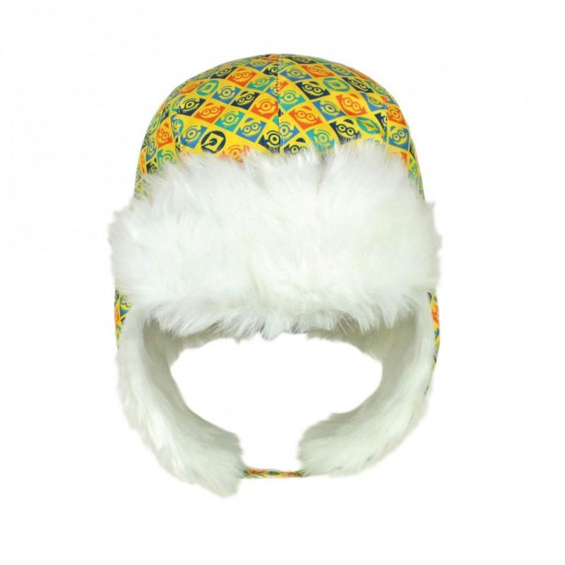 Zimní hřejivá čepice s kožíškem Mimoni / vecizfilmu