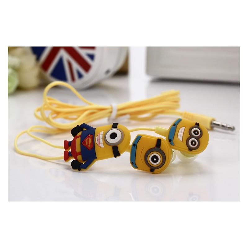 Sluchátka pro Apple a další zařízení - motiv Mimoni