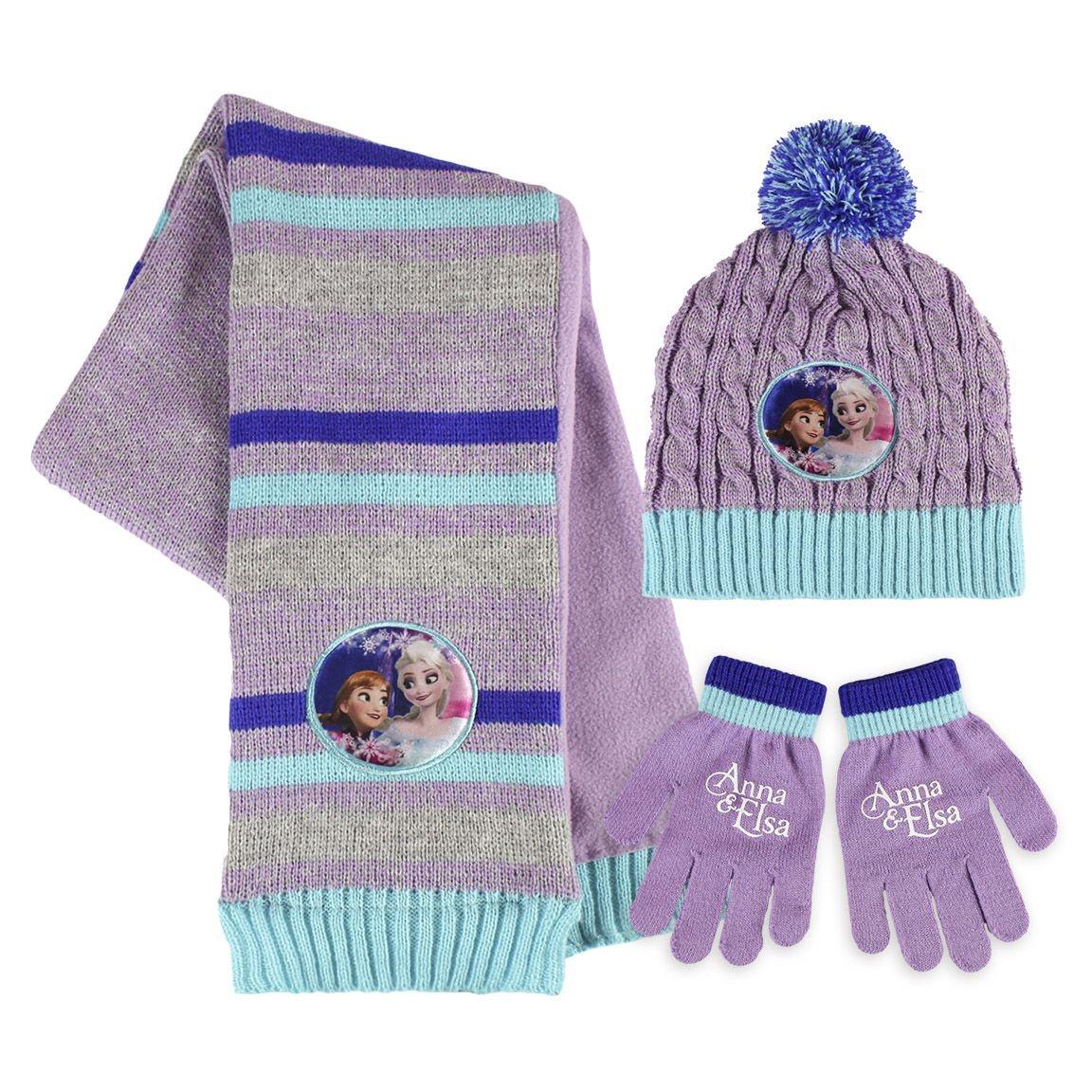 Dívčí pletená sada oblečení Frozen