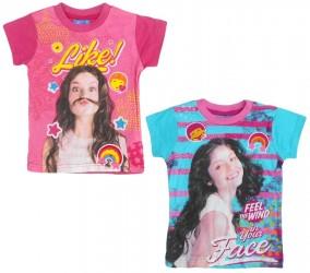 Dívčí triko s krátkým rukávem Soy Luna