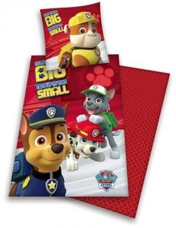 Povlečení Pro Děti 140X200 Paw Patrol Red b7ab14499d