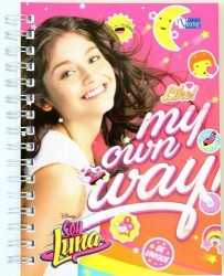 Notes Soy Luna Be Unique A6