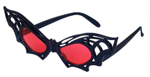Brýle netopýr Halloween Red