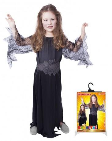Kostým čarodějnice na Halloween Black
