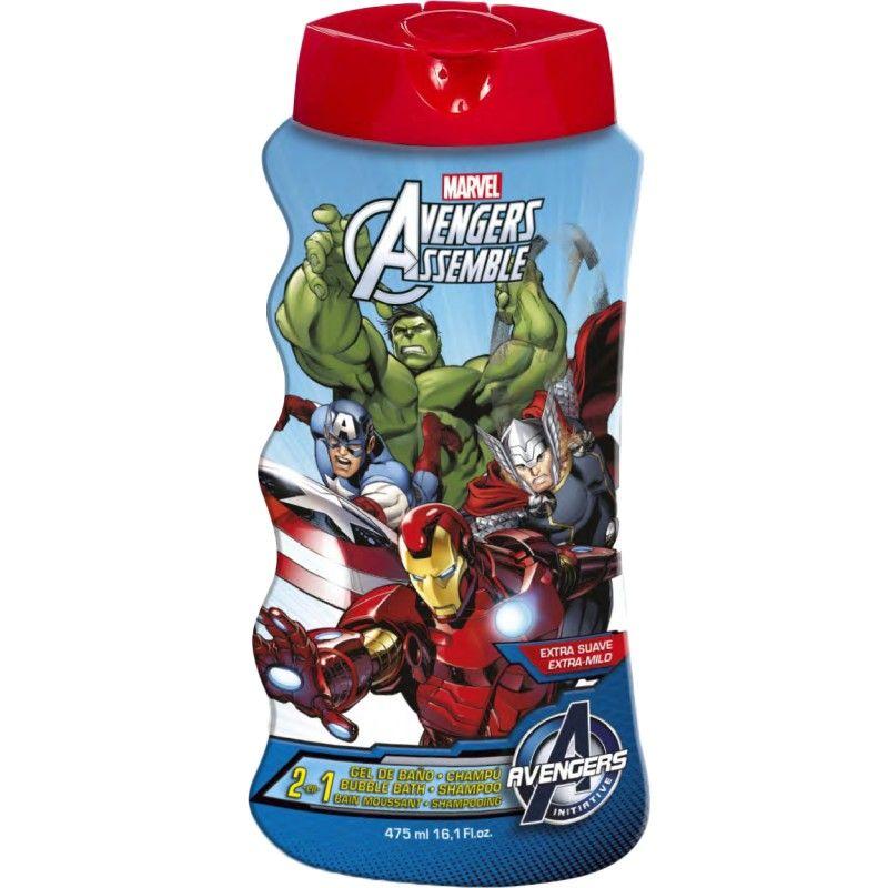 Avengers 2v1 šampon a pěna do koupele