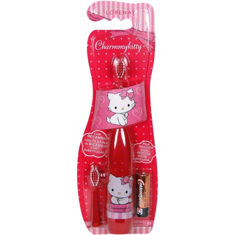 Charmmy Kitty elektrický zubní kartáček + náhrada