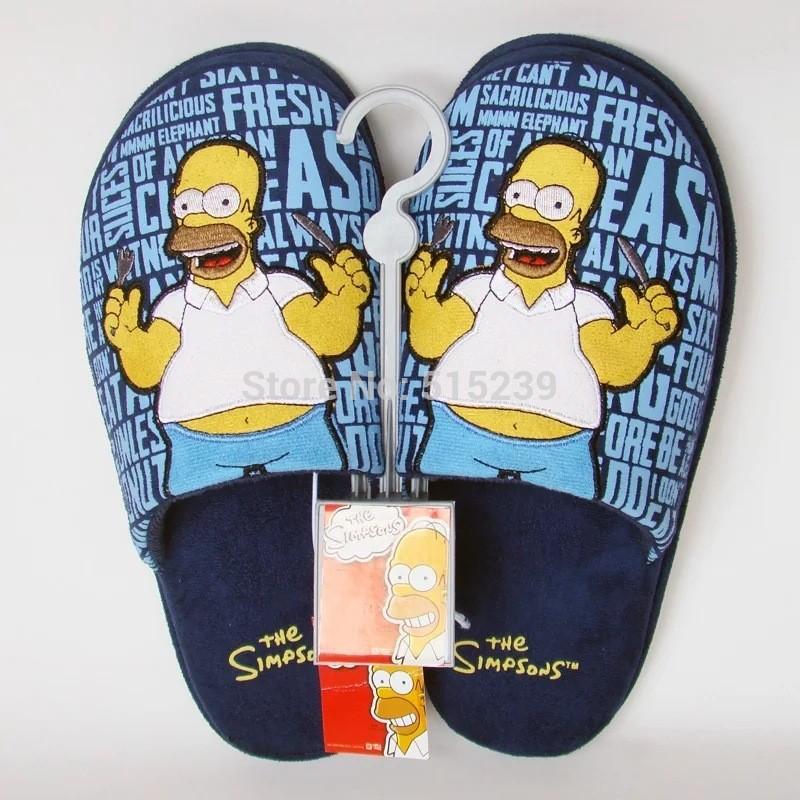 Pánské Papuče Homer Simpson 96a71d05c5