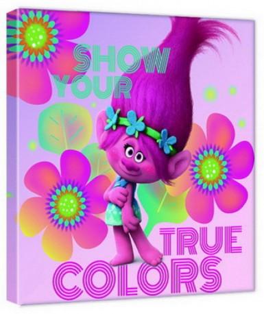 Nástěnný Obrázek Trollové 35 x 35 cm / vecizfilmu